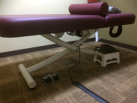 Firstenburg Foundation Funds Accessible Treatment Tables